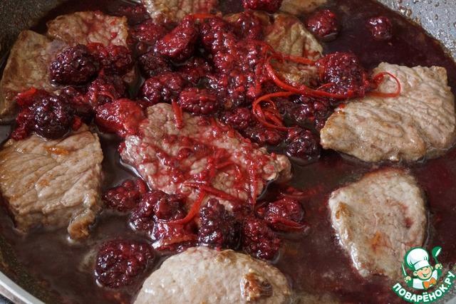 Рецепт говядина в соусе пошагово