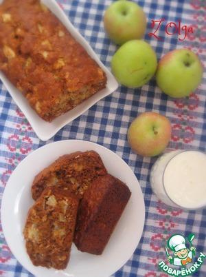 Рецепт Десертный яблочный хлеб