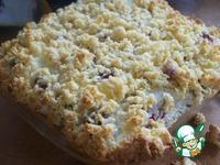 Тертый пирог с безе и малиной ингредиенты