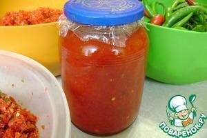 Рецепт Канкоча, перцовочесночная смесь, острый соус