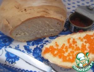 Рецепт Медовый хлеб на сыворотке