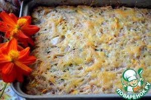 Рецепт Запеканка рисовая с мясом и овощами