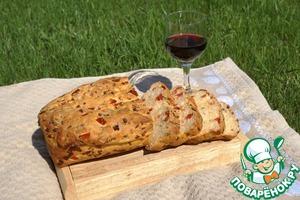 Рецепт Хлеб с вялеными помидорами и пряными травами