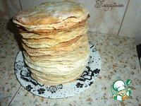 "Старый классический торт ""Наполеон"" ингредиенты"