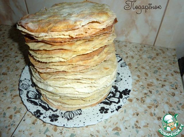 Старинный рецепт торта наполеон пошагово с фото