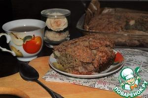 Рецепт Грушевый пирог с крамблом