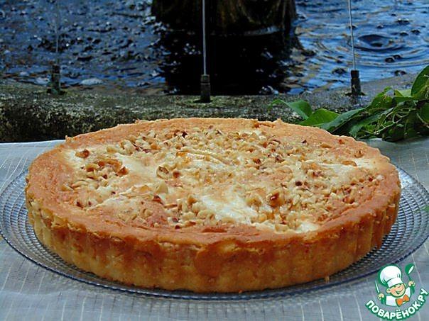 грушевый пирог рецепт простой с фото