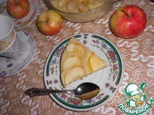 Рецепт Быстрая шарлотка в СВЧ печи