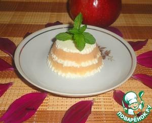 Рецепт Яблочно-творожный десерт