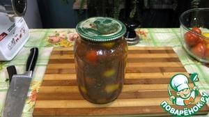 Рецепт Помидоры в остром томатном соусе с сельдереем