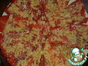 Рецепт Заправка для жареного болгарского перца и кабачков