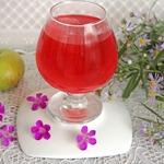 Напиток из яблок с базиликом и мятой