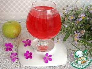 Рецепт Напиток из яблок с базиликом и мятой