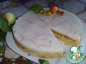 Рецепт Пирог с яблочным муссом