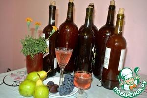 Рецепт Вино из лепестков чайной розы