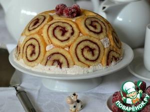 торт малиновый звон рецепт