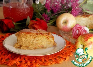 Рецепт Яблочный пирог по рецепту немецких бабушек