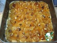 Пирог с карамелизированной грушей ингредиенты