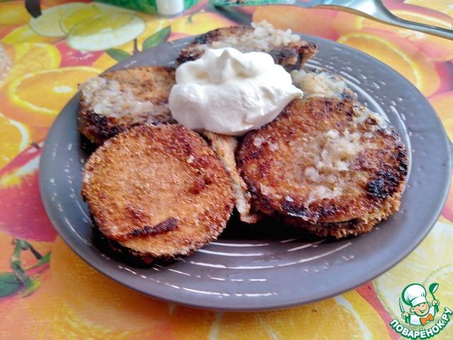 Жареные баклажаны в кляре рецепт