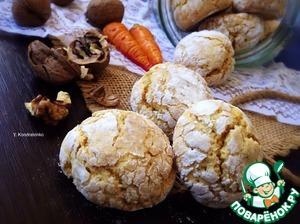 Рецепт Морковно-ореховое печенье