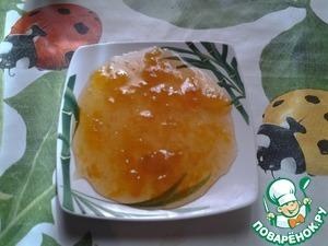 Рецепт Варенье пятиминутка из желтой сливы (без кожуры)