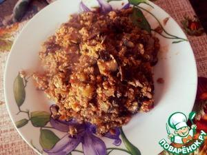 Рецепт Баклажаны с яйцом