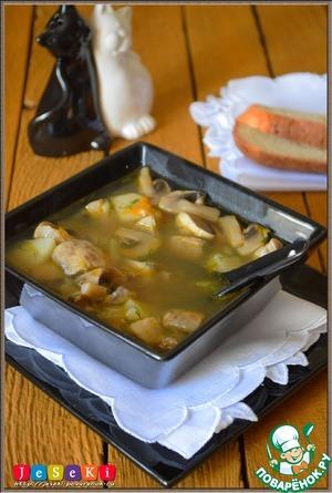 рецепт быстрого супа на ужин