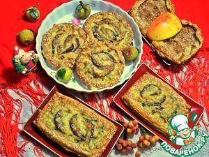 Рецепт Шанежки с лососем и картошкой