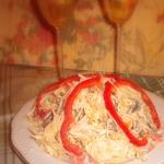 Новогодний салат с корнем сельдерея