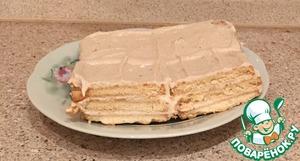 Рецепт Творожно-банановый тортик за 5 минут