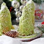 Новогодние елочки-кексы