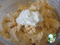 Тыквенный кекс под сливочной шапочкой ингредиенты