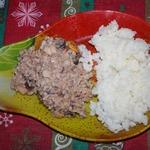Морепродукты с кокосовым молоком