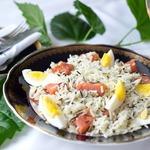 Рис Басмати микс с рыбой