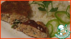 Рецепт Котлеты рыбные из лосося