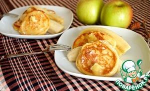 Рецепт Оладьи из рикотты с медовым маслом