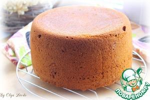 Рецепт Медовый бисквит в мультиварке