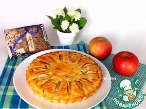 Рецепт Запеканка из творога и риса с яблоками