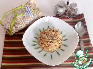 Рецепт Жареный рис с кетой