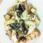 Салат с кедровыми орешками