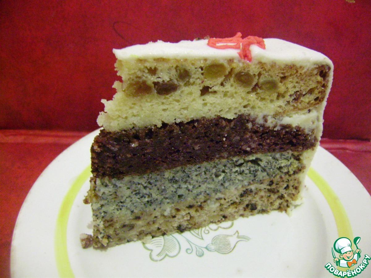 Фото рецепт торт дамский каприз