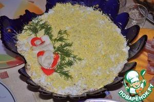 салат на морском дне рецепт