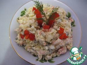"Рецепт Салат ""Настоящее французкое оливье"""