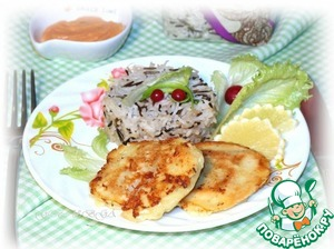 Рецепт Рыбное филе в кляре с рисом
