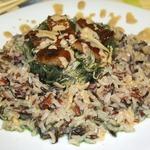 Салат с чуккой и угрем