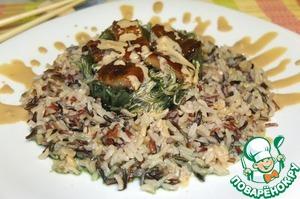Рецепт Салат с чуккой и угрем