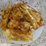 Закусочные сырные палочки