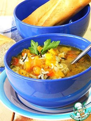 Рецепт Густой вегетарианский суп