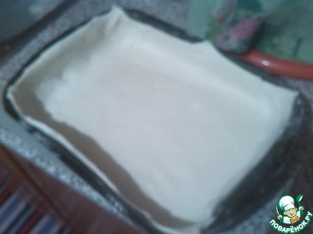 Пирог из слоеного теста с фаршем в мультиварке рецепты 57