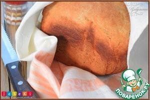 Рецепт Пшенично-ржаной хлеб с соевым соусом и имбирем